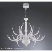 Diyas Llamas Pendant 24 Light White
