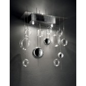 Niagara Wall Light - 3 Light, Stainless Steel