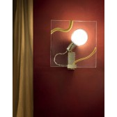 Capo Nord Wall Light - Amber, Gold