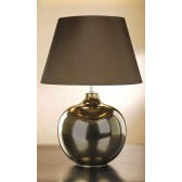 Luis Collection LUI/OTTOMAN Ottoman Bronze Metallic Table Lamp