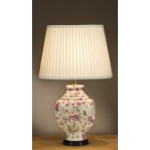 Luis Collection LUI/PINK CARN Pink Carnations Table Lamp