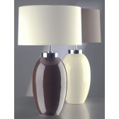 Luis Collection LUI/VICTOR SM BR Victor Small Brown Table Lamp