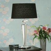 Interiors1900 Porter Rhodes Table Lamp, Black