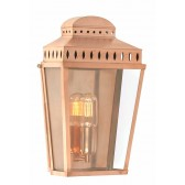 Elstead MANSION HOUSE CP Mansion House Wall Lantern Copper