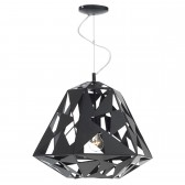 Dar Moby 1-Light Pendant Black