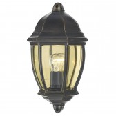 Newport Wall Light - Black/Gold