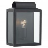 Notary IP44 Rectangle Wall Light - Black