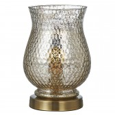 Nugget Table Lamp - Antique Silver