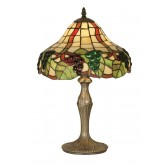 Oaks Lighting OT 0209/12 TL Grapes Ii Tiffany