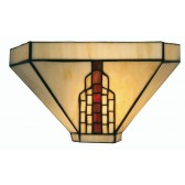 Viola Tiffany Wall Light