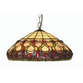 Oberon Tiffany Ceiling Light - Pendant