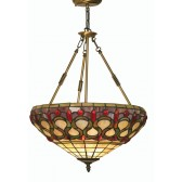 Oberon Tiffany Ceiling Light