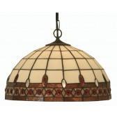 Flute Tiffany Ceiling Light - Pendant