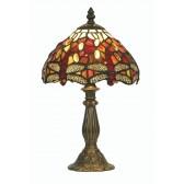 Dragonfly Tiffany Table Lamp - Small