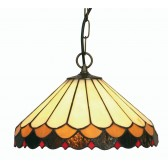 Lysander Tiffany Ceiling Light - Pendant