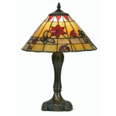 Butterfly Tiffany Table Lamp - Medium