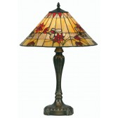 Butterfly Tiffany Table Lamp - Large