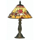 Butterfly Tiffany Table Lamp - Small