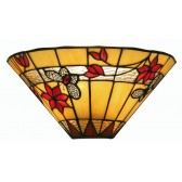 Butterfly Tiffany Wall Light