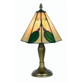 Leaf Tiffany Table Lamp - Small