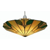 Leaf Tiffany Non Electric Ceiling Light