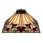 Camillo Tiffany Ceiling Light - Uplighter
