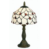 Tiffany Table Lamp - Amber Beads 8