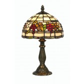 Grapes Tiffany Table Lamp - Small