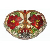 Rose Tiffany Ceiling Light