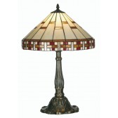 Aremisia Tiffany Table Lamp - Large