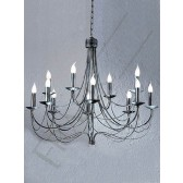 Franklite PE36112 Grandeur 12 Light Fitting