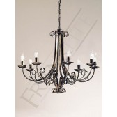 Franklite PE7548 Babylon 8 Light Fitting