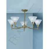 Franklite PE8015 Harmony 5 Light Fitting