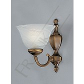 Franklite Naples Single Wall Light - Bronze, Bracket Only
