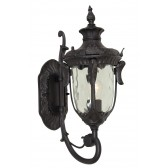 Elstead PH1/L BLK Philadelphia Large Wall Lantern Black