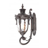 Elstead PH1/L OB Philadelphia Large Wall Lantern Black