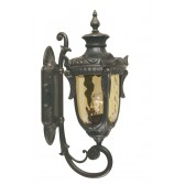 Elstead PH1/M OB Philadelphia Wall Up Lantern Medium