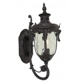 Elstead PH1/M BLK Philadelphia Medium Wall Lantern Black
