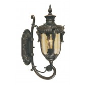 Elstead PH1/S OB Philadelphia Wall Up Lantern Small