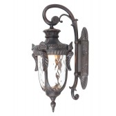 Elstead PH2/L OB Philadelphia Large Wall Lantern Black