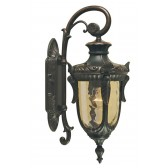 Elstead PH2/M OB Philadelphia Wall Down Lantern Medium