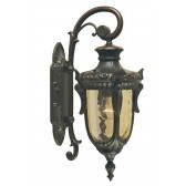 Elstead PH2/S OB Philadelphia Wall Down Lantern Small