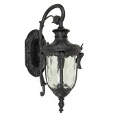 Elstead PH2/S BLK Philadelphia Small Wall Lantern Black