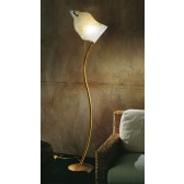 Firenze Floor Lamp - 1 Light, Antiqued Brown