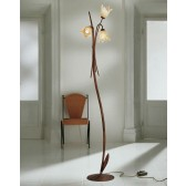 Trieste Floor Lamp - 3 Light, Antique Brown