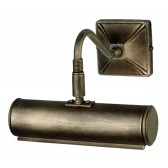 Elstead PL1/10 BLK/GOLD Picture Light 190mm Black/Gold