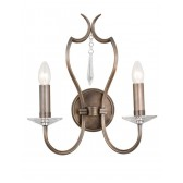 Elstead PM2 DB Pimlico 2 - Light Wall Light Dark Bronze