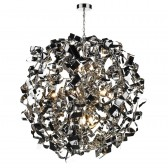 Puccini Ceiling Pendant - 8 Light, Polished Chrome