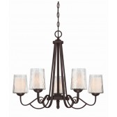 Quoizel QZ/ADONIS5 Adonis 5 - Light Chandelier
