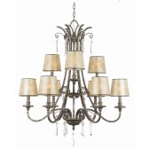Quoizel QZ/KENDRA9 Kendra 9 - Light Chandelier